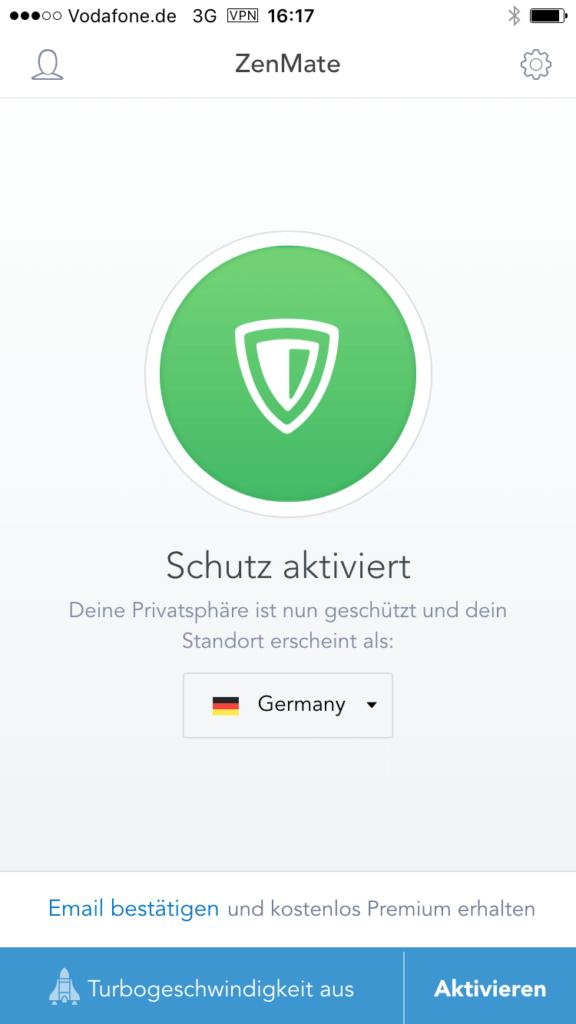 ZenMate VPN App